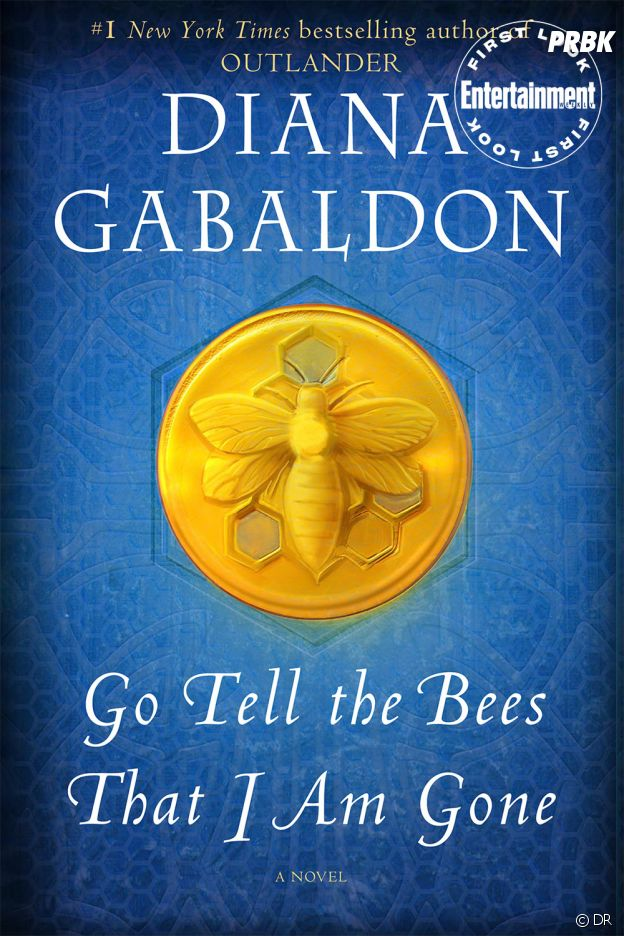 Outlander : la couverture de Go Tell the Bees That I'm Gone, le 9e livre de la saga de Diana Gabaldon