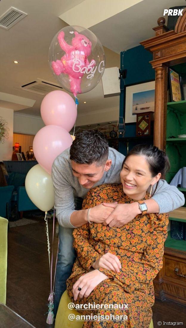 Archie Renaux et sa petite amie Annie sont parents