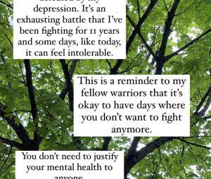 Lili Reinhart se confie sur sa dépression en story sur Instagram