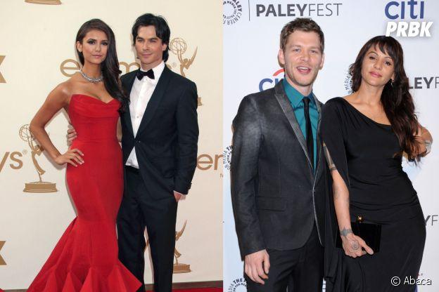 The Vampire Diaries : Nina Dobrev et Ian Somerhalder ainsi que Joseph Morgan et Persia White se sont rencontrés sur le tournage de la série
