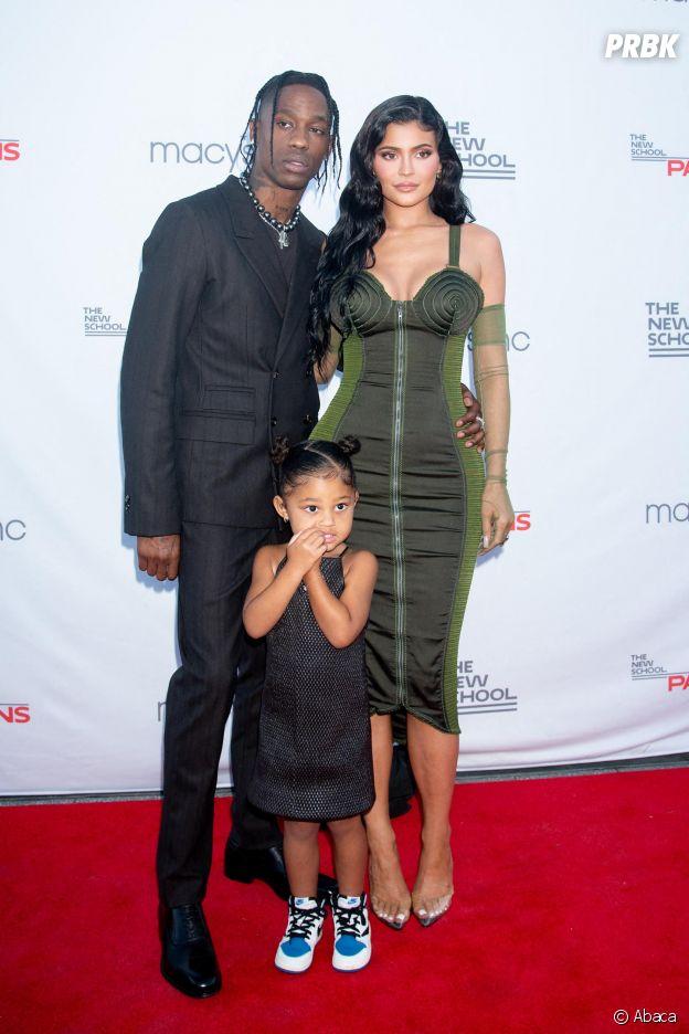 Travis Scott, Kylie Jenner et Stormi sur le tapis rouge du 72e Parsons Benefit