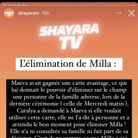 Milla Jasmine éliminée des Marseillais VS Le reste du monde 6 par Maëva, mais bientôt de retour ?