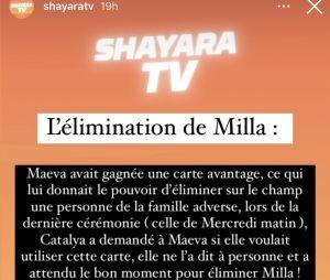 Les Marseillais VS Le reste du monde 6 : Milla Jasmine éliminée par Maëva Ghennam par vengeance ?
