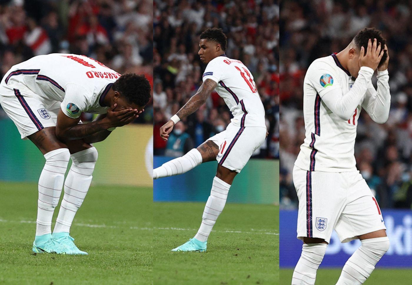 Euro 2020 : les joueurs anglais victimes de racisme de la part de  supporters après la défaite - Purebreak