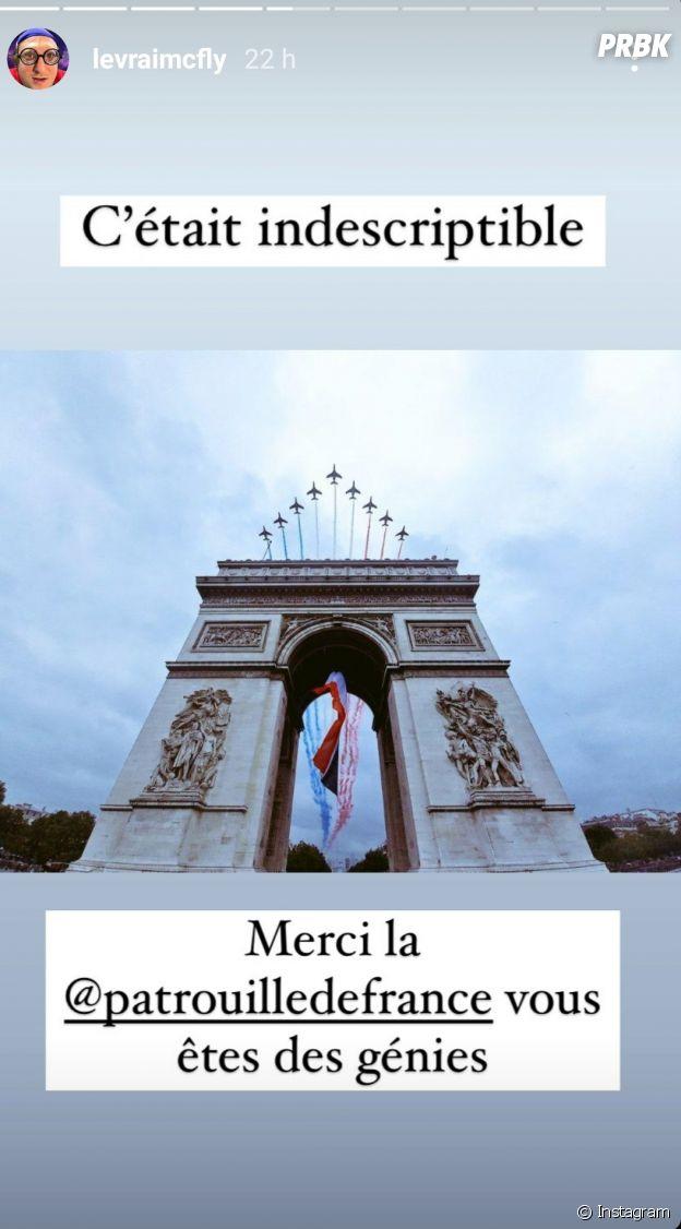 McFly et Carlito ont bel et bien volé avec la Patrouille de France pour le 14 juillet 2021