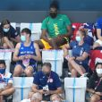 Tom Daley tricote pendant les Jeux Olympiques de Tokyo