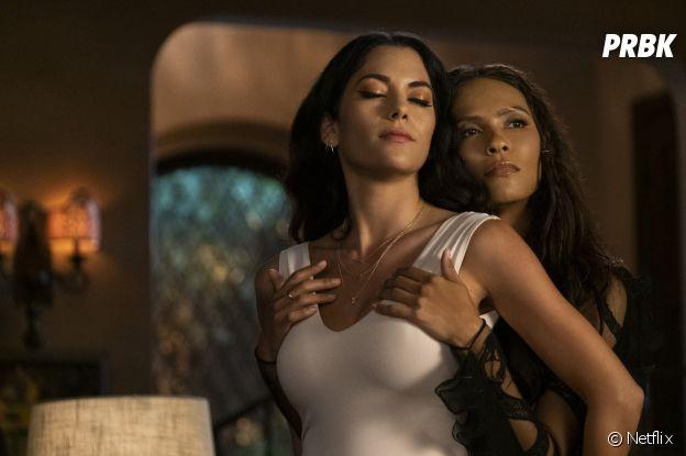 Lucifer saison 6 : Eve et Maze sur une photo
