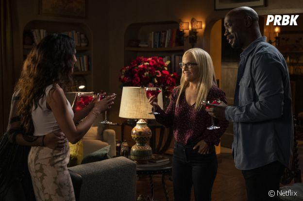 Lucifer saison 6 : Linda et Amenadiel sur une photo