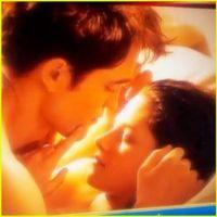 Twilight 4 ... une photo de tournage très chaude de Kristen Stewart et Robert Pattinson