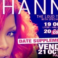 Rihanna ... Elle ajoute un deuxième Bercy à sa tournée