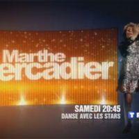 Danse avec les stars sur TF1 aujourd'hui ... Marthe Mercadier fait sa bande annonce