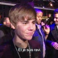 Justin Bieber à Paris ... La vidéo officielle, comme si vous y étiez
