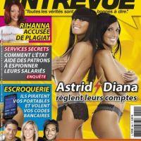 Astrid et Diana ... Le clash sexy en couv' d'Entrevue (photo)