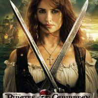 Penelope Cruz ... son affiche du film Pirates des Caraibes 4