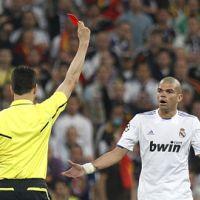 Real Madrid / FC Barcelone ... VIDEO ... il n'y avait pas faute et carton rouge pour Pepe
