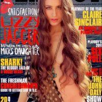 Lizzy Jagger nue dans Playboy ... la réaction de son père Mick attendu