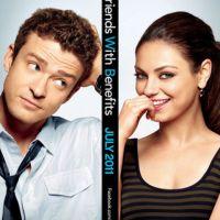 Justin Timberlake et Mila Kunis ensemble ... sur l'affiche de Sexe entre amis
