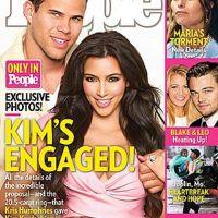 Kim Kardashian ... Fiancée avec Kris Humphries, elle va se marier