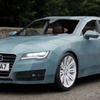 Une Audi A7 en papier ... la vidéo buzz