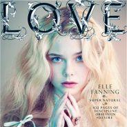 Elle Fanning : En couverture de Love, elle débute sa carrière de mannequin (PHOTO)