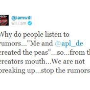 Black Eyed Peas : pas de séparation, Will i Am dément sur Twitter