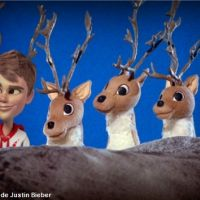 Justin Bieber ''Santa Claus Is Coming To Town'' : 1eres images du futur clip (VIDEO)