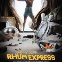 Rhum Express : Johnny Depp en route pour une gueule de bois