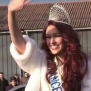 Miss France 2012 : retour aux sources pour Delphine Wespiser (VIDEO)