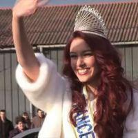 Miss France 2012 : retour aux sources pour Delphine Wespiser (VIDEO)