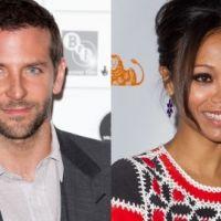 Bradley Cooper sous le charme de Zoe Saldana