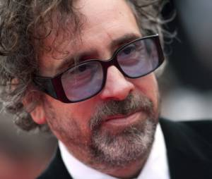 Tim Burton au Festival de Cannes en mai 2010