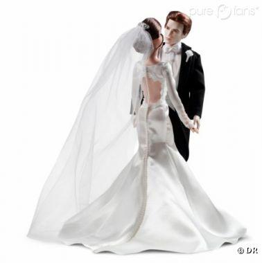 Robert Pattinson et Kristen Stewart en Barbie.