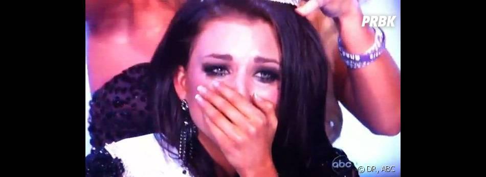 Les larmes de la victoire pour Laura Kaeppeler