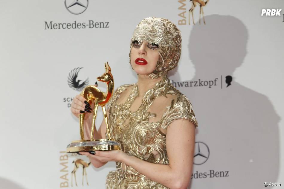 Lady Gaga et sa drôle de tête