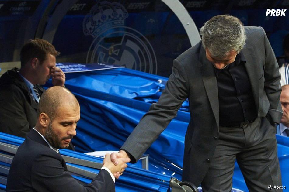 Guardiola et Mourinho