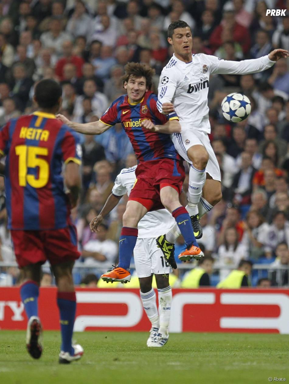 Ronaldo et Messi