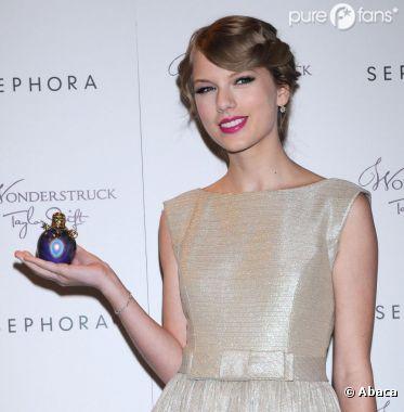 Taylor nous présente son parfum, Wonderstruck