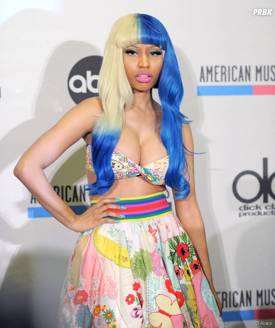 Nicki Minaj version sorbet citron-myrtille