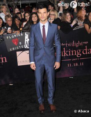 Taylor Lautner à l'avant-première de Twilight