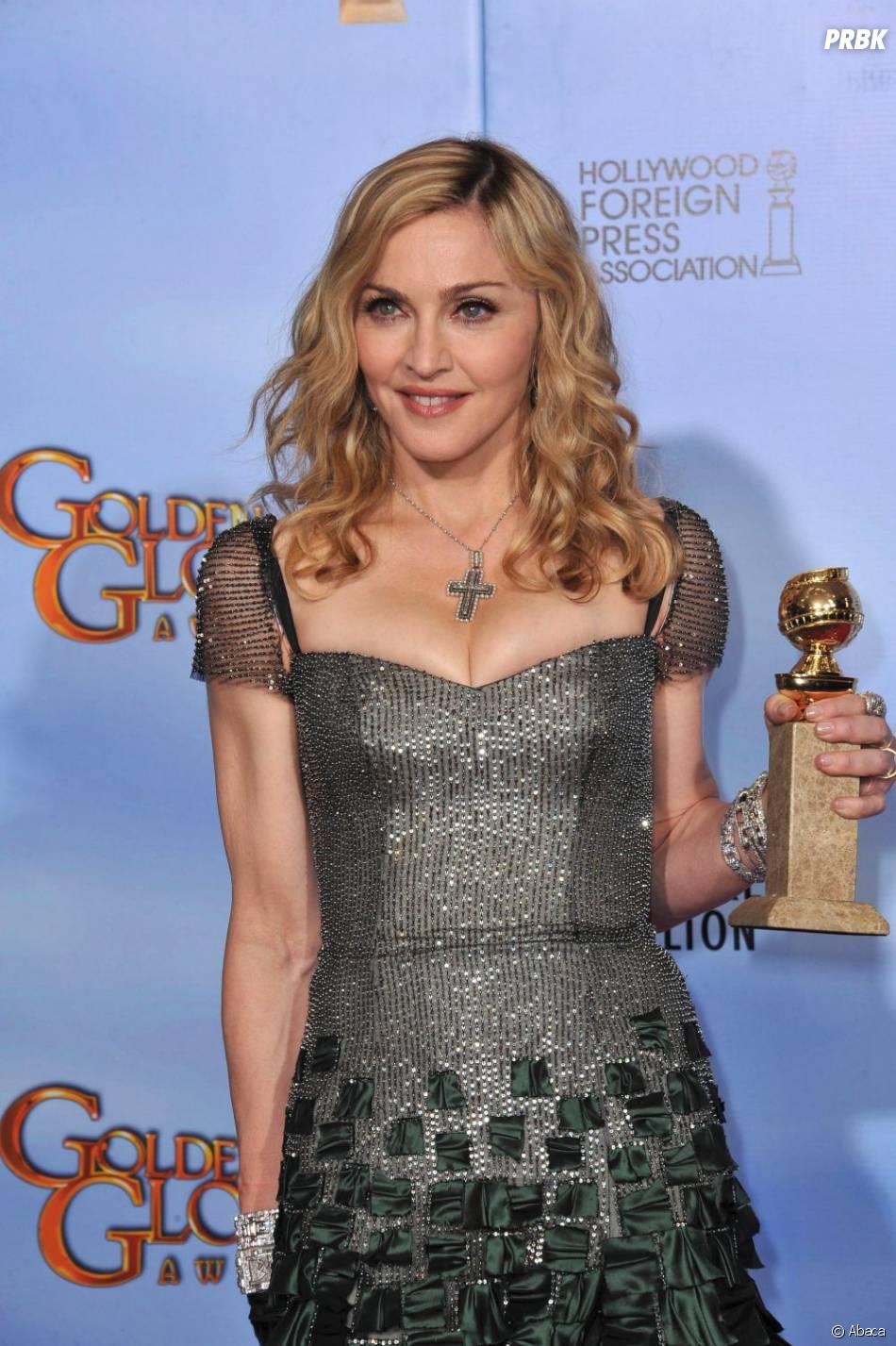 Madonna, aux Golden Globe Awards