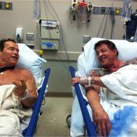 Arnold Schwarzenegger et Sylvester Stallone : opération en duo pour les deux potes (VIDEO)