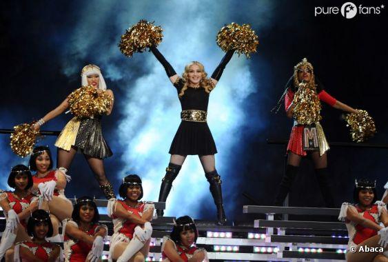 Madonna a tout donné le soir du Superbowl