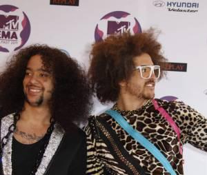 Les LMFAO aux European Music Awards