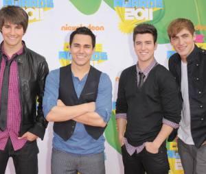Big Time Rush aux Kids Choice Awards 2011
