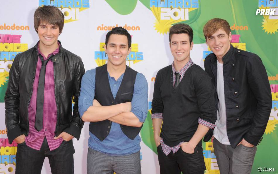 Big Time Rush aux Kids Choice Awards 2011