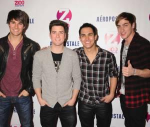 Big Time Rush le film diffusé le 10 mars 2012 aux USA