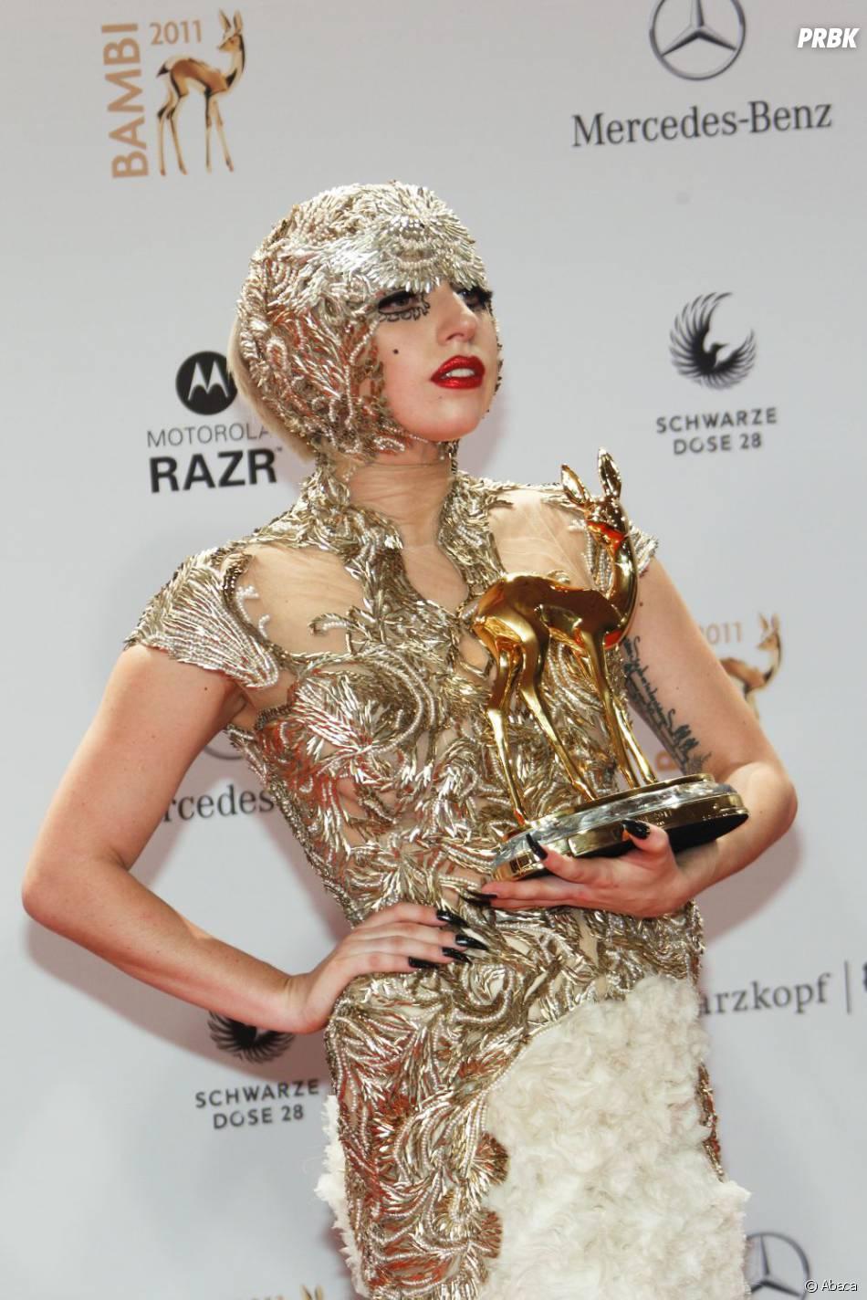 Lady Gaga aux Bambi Awards