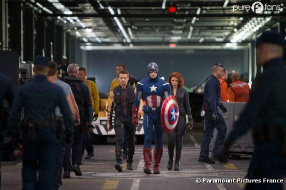 The Avengers en mode pas contents !