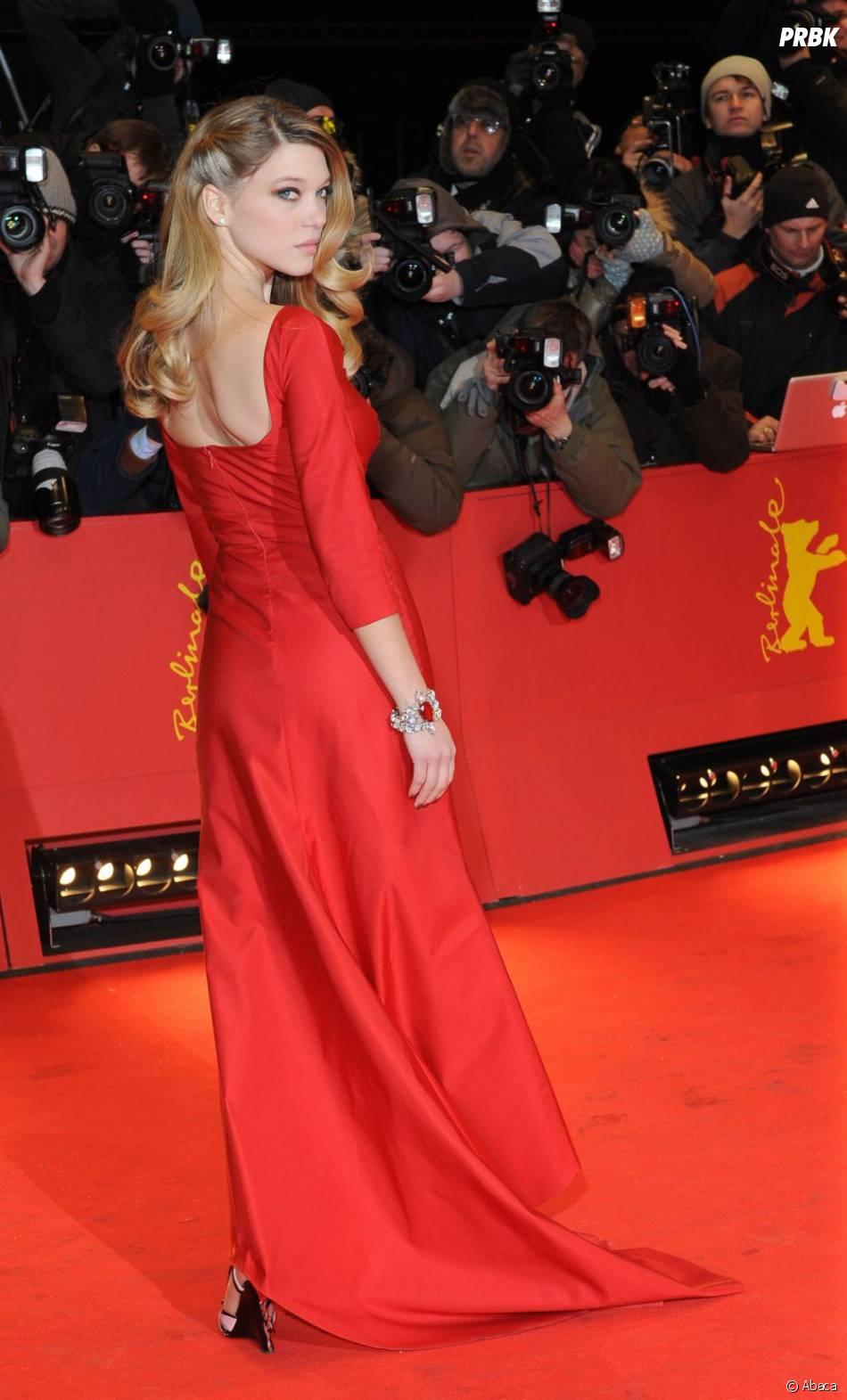 Lea Seydoux lors du festival Berlinale
