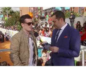 Josh Hutcherson parle du succès d'Hunger Games aux Kids Choice Awards 2012